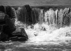 Water VIII (Alexander Day) Tags: water waterfall blackandwhite monochrome new jersey alex alexander day waterfalls
