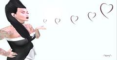 Kiss me (~*starry*~ (stellar moonwinder)) Tags: avenge cosmopolitan elikatira gingerfish ikon kaithleens lelutka maitreya prodigyink saltpepper secondlife thecrossroads