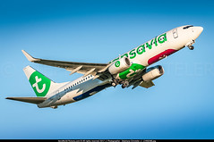 """ORY.2017 # TO - B738 F-HTVB """"France Soleil"""" awp (CHR / AeroWorldpictures Team) Tags: transavia france boeing 7378k2wl cn 62161 5816 engines cfmi cfm567b27e reg fhtvb history aircraft first flight construction site renton rnt wa usa delivered transaviafrance to tvf config cabin y189 b737 b737800 winglets wl plane aircrafts planespotting paris orly ory lfpo takeoff sunset 2016 2017 nikon d300s zoomlenses nikkor 70300vr raw lightroom lr5 awp"""