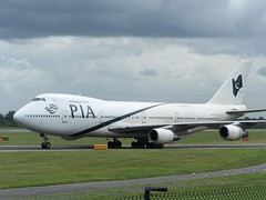 AP-BAT (IndiaEcho Photography) Tags: apbat pakistan international airlines pak pk boeing 747200 manchester airport airfield egcc man airliner aviation aeroplane aircraft cheshire england