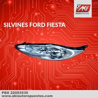 Silvines para Ford Fiesta