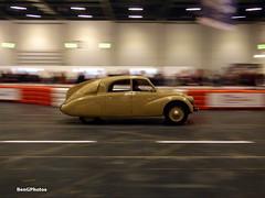 Tatra T97 (BenGPhotos) Tags: 2017 london classic car show tatra t97 aerodynamic streamlined streamliner rare exotic 816uxw