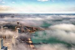 moments earlier (jnhPhoto) Tags: jnhphoto chicago chicagoskyline chicagocloudslakemichigancityscape lakemichigan lake lakeshoredrive clouds