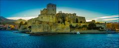 Collioure (jyleroy) Tags: collioure pyrénéesorientales canon eos700d paysages coucherdesoleil sunset château fortification rebel t5i nationalgeographicgroup ngc mer sea méditerranée