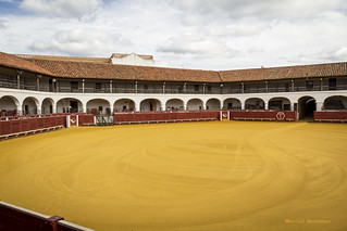 Spain - Ciudad Real - Almaden - Hexagonal bullring