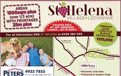 Lot 101 St Helena, Lochinvar NSW
