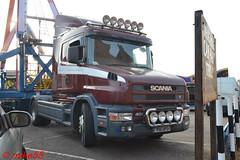Scania 124L reg P16 UPS (erfmike51) Tags: scania124l tcab truck artic fairgroundlorry