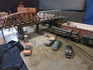Setup Shot - Steel Mill Parking Lot - 1957