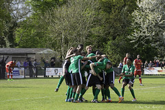 Burgess Hill Town FC 2 Merstham FC 1 22.04.2017 (CNThings) Tags: burgesshill merstham ryman isthmian premier nonleague football goal winner win victory celebration players team group pitch match grass nikon d7100 cnthings chrisneal prizmatic