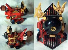 Nya's Phoenix Train - Colash (K D Lawyer) Tags: lego contest nya ninjago