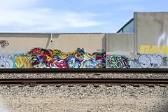 CEAVR, SWERV (STILSAYN) Tags: california graffiti oakland bay east area 2014 swerv ceavr