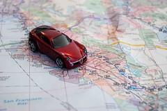 Hot Wheels road trip 2 (nolajuju) Tags: map roadtrip hotwheels alfaromeo roadmap toycars oaklland