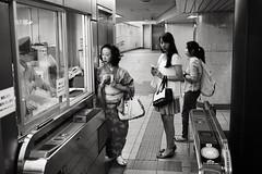 Nogizaka. (Davide Filippini ) Tags: street people blackandwhite bw monochrome japan subway tokyo blackwhite pessoas gente streetphotography menschen personas persone tquio   personnes  tokio   nogizaka tokyometro  tokyosubway      japonia   japonya tokyobw  japanesepeople  nhtbn  japanbw      tokyomonochrome nogizakastation  japanblackandwhite   davidefilippini japanstreetphotography tokyostreetphotography japanmonochrome    tokyoblackandwhite  fujifilmx100          x100
