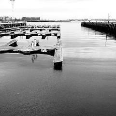 Pier 6 (mph1966) Tags: blackandwhite bw water boston square ma boats harbor pier boat dock jetty massachusetts horizon gray samsung 11 galaxy wharf charlestown 365 grayscale mass bostonma s4 navyyard bostonharbor pier6 charlestownnavyyard project365 bostonmass charlestownmass charlestownma galaxys4