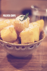 Jamie's Italian Singapore (Thainlin Tay) Tags: food cheese restaurant italian singapore jamie oliver herbs pasta chips rosemary dining polenta