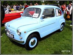 Fiat 600   1955 (Alan B Thompson) Tags: picasa olympus vehicle felixstowe ipswich 2014 sp590uz
