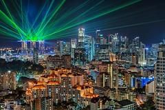 MBS show (joel_80) Tags: nikon singapore cityscapes citylights lasershow mbs d800 nikkor1635mm luminousitymasking