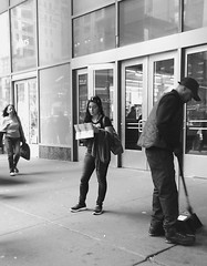 """""""The Lonely Tourist."""" New York, New York (B.C. Lorio) Tags: newyorkcity manhattan streetphotography timessquare android portauthority busterminal pabt vsco htcone"""