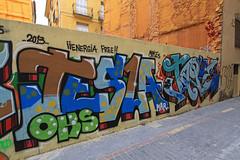 024 - Valencia (Spain) (Lumire-du-matin) Tags: street urban streetart art wall graffiti paintings tags spray urbanart mur wallpainting mauer urbain canonefs1022mmf3545usm peinturemurale murspeints