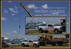 Beyel Super Boat Lift Late Entry (av8rtv tvphotog) Tags: cruise port ship lift crane powerboats canaveral tvphotog superboat beyel av8rtv visitspacecoast