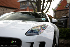 R (MJParker1804) Tags: white f r type jaguar coupe v8 supercharged 2014 ftype