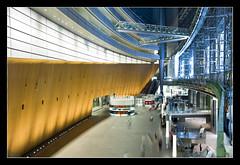Tokyo International Forum @Tokyo, Japan (brunombo) Tags: travel building japan lights tokyo hall pentax steel forum sala luci tamron costruzione viaggio tokyointernationalforum giappone congressi acciaio tamronaf18250mmf3563diiildasphericalifmacro justpentax