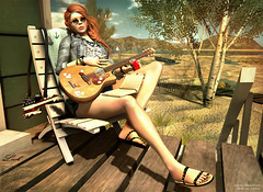 My Guitar Solo (Freezea) Tags: summer look truth foil sl secondlife kalina frogstar amitomo leprimitif motiame coldambitionz