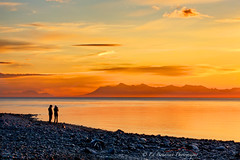 Alaska Gold (Ed Boudreau) Tags: sunset water alaska cook inlet turnagainarm alaskamountains