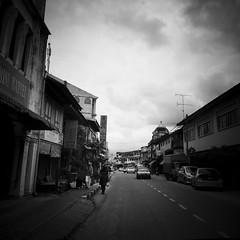Rantau Panjang, Kelantan. (1davidstella) Tags: street clouds town samsung kelantan placesofinterest rantaupanjang thailandborder