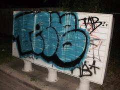 TAB (=BLEK=) Tags: graffiti tag graff bomb bombing tab rgv bems blek tabk tabkrew