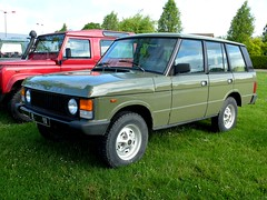 RANGE ROVER (xavnco2) Tags: france green classic cars car automobile rover british autos range verte somme ffmc hbcourt