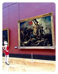 redandjonny (RedandJonny) Tags: paris art love starwars gallery louvre redandjonny stormtroopersinlove inagalleryfarfaraway