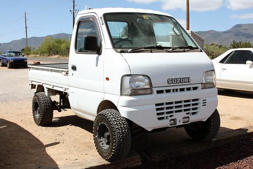1999 Suzuki Carry (twm1340) Tags: truck pickup 1999 suzuki carry parkplace