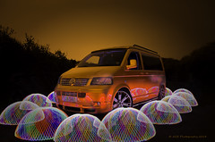 steves dome attack lr (AGB Photography) Tags: orange vw volkswagen transport t5 custom photoshot camper nikond7000 agbphotography2014