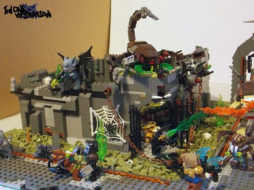 Lego Chima Scorpion King Lego Chima Scorpion Palace