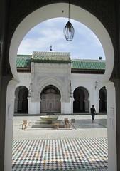 University of al-Karaouine (Fès, Morocco) (courthouselover) Tags: unesco morocco maroc schools universities fès unescoworldheritagesites المغرب almaghrib fèselbali فاس fèsboulemane fèsboulemaneregion régiondufèsboulemane