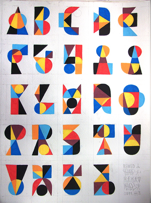 ALPHABET by Remed.