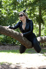 Catwoman (sciencensorcery) Tags: comics dc cosplay catwoman
