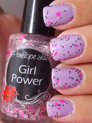 Cotton Candy - Hits + Girl Power - Penélope Luz (Natalia Breda) Tags: glitter hits lilás esmaltenacional penélopeluz indiepolish