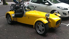 Caterham Super Seven (sjoerd.wijsman) Tags: holland netherlands yellow jaune nederland thenetherlands 7 zeeland super voiture gelb seven holanda geel paysbas middelburg caterham olanda niederlande roadster caterham7 carspotting yellowcars ccar klarenbeek caterhamsuper7 caterhamseven carspot caterhamsuperseven rxxj19 sidecode5