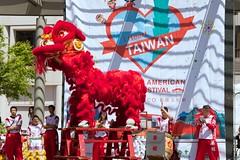 Lion Dancers (davegolden) Tags: sanfrancisco ca us unionsquare taiwaneseamericanculturalfestival