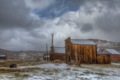 Snow in Bodie This Week (Jeff Sullivan (www.JeffSullivanPhotography.com)) Tags: park snow abandoned weather rural buildings town state decay ghost sierra historic bodie bridgeport eastern hdr bdsh caliparks