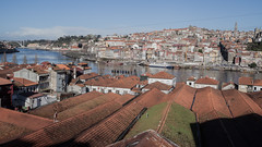 * (Cees Willems) Tags: old city bridge sun color colour reflection portugal water wall port river boat town spring ship flood horizon barrel eiffel porto frame douro historical citycenter cellar wein winecellar portwine 35l ceeswillems 5dm2