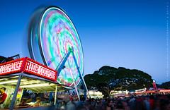 Ferris Swirl (Rex Maximilian) Tags: longexposure carnival school night hawaii twilight ride oahu fair ferriswheel honolulu punahou manoa makiki ridecoupons prepatoryacademy
