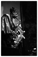 Sun Ra Arkestra @ Barbican Hall, London, 31st May 2014 (fabiolug) Tags: leica blackandwhite bw music london monochrome zeiss 50mm blackwhite concert live space gig livemusic performance jazz rangefinder barbican monochrom sax saxophone biancoenero arkestra sunra sonnar londonist sunraarkestra barbicanhall leicam marshallallen zeisssonnar 50mmf15 sonnar50mm zeisscsonnar zeisszm50mmf15csonnar mmonochrom leicammonochrom leicamonochrom zeisscsonnartf1550mmzm directedbymarshallallen