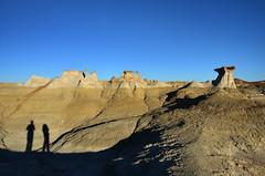 San Juan Badlands, NM (ladigue_99) Tags: newmexico hiking hike erosion geology sanjuancounty thewings bistiwilderness ladigue99 sanjuanbadlands