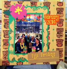 Fiji Friday in the vascular lab (Jaxonista) Tags: fiji scrapbook idea die machine exotic page cutting friday electronic knk zing