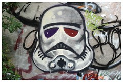 Leake Street 2/6/14 (Blackers63) Tags: streetart graffiti starwars stormtrooper leakestreet