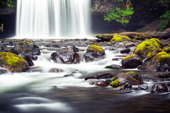 Butte Creek Falls (nicolesy) Tags: oregon creek waterfall butte unitedstates scottsmills 500px ifttt