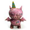Pink_Confetti_Bat_frnt (Leecifer/lgajda) Tags: giantrobot toys artshow uglydoll icebat chupacabra gr2 vinyltoys leecifer uglycon
